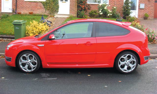 Window Tinting Facelift - take a look at this red hot Ford